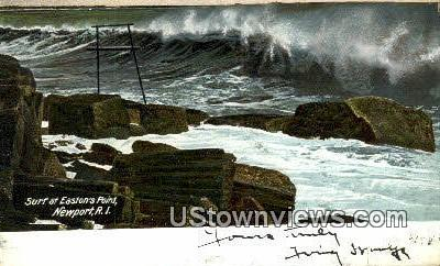 Easton's Point - Newport, Rhode Island RI Postcard