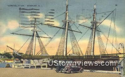 Constellation - Newport, Rhode Island RI Postcard