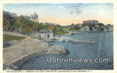 Residence of E.D. Morgan - Newport, Rhode Island RI Postcard