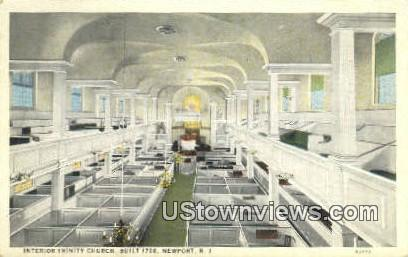 Trinity Church, 1726 - Newport, Rhode Island RI Postcard