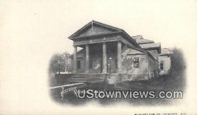 Redwood Library - Newport, Rhode Island RI Postcard