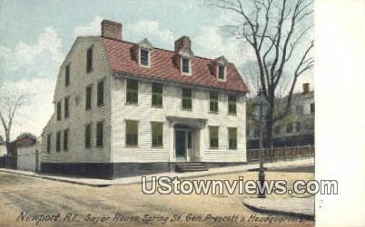 Sayer House - Newport, Rhode Island RI Postcard