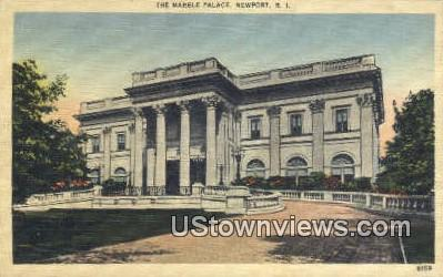 Marble Palace - Newport, Rhode Island RI Postcard