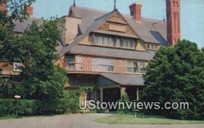 Baptist Home - Newport, Rhode Island RI Postcard