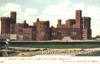 Ex. Gov Charles Warren Lippitt - Newport, Rhode Island RI Postcard