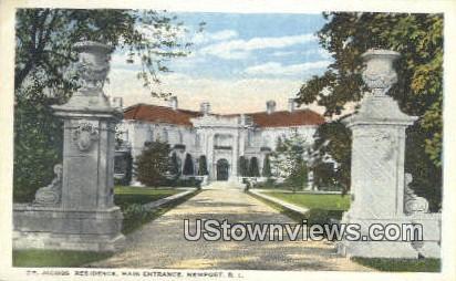 Dr. Jacobs Residence - Newport, Rhode Island RI Postcard