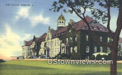 War College - Newport, Rhode Island RI Postcard