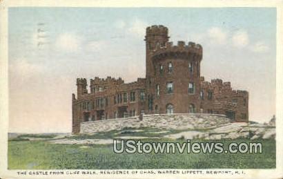 The Castle - Newport, Rhode Island RI Postcard