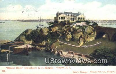 Beacon Rock - Newport, Rhode Island RI Postcard
