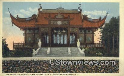 Japanese Tea House - Newport, Rhode Island RI Postcard