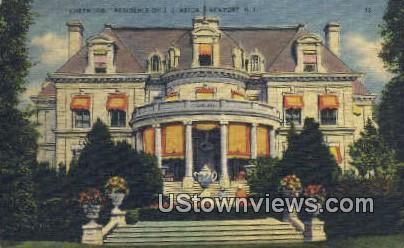 Chetwood, Residence of J.J. Astor - Newport, Rhode Island RI Postcard