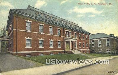 new YMCA - Newport, Rhode Island RI Postcard