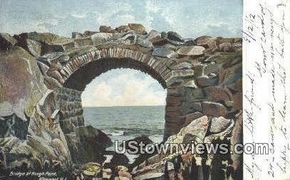 Bridge, Rough Point - Newport, Rhode Island RI Postcard