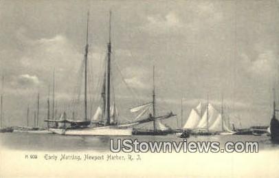 Newport Harbor, RI,;  Newport Harbor, Rhode Island, Postcard
