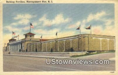 Bathing Pavilion - Narragansett Pier, Rhode Island RI Postcard