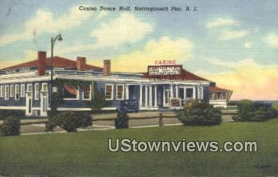 Casino Dance Hall - Narragansett Pier, Rhode Island RI Postcard