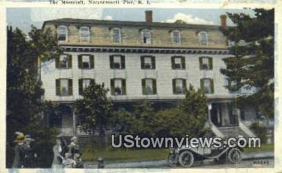 The Massasoit - Narragansett Pier, Rhode Island RI Postcard