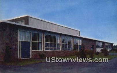 East Greenwich High School - Rhode Island RI Postcard
