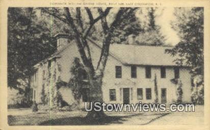 Governor William Greene House, 1680 - East Greenwich, Rhode Island RI Postcard