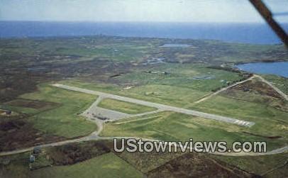 Block Island Airport - Rhode Island RI Postcard