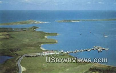 New Harbor - Block Island, Rhode Island RI Postcard