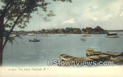 The Neck - Pawtuxet, Rhode Island RI Postcard