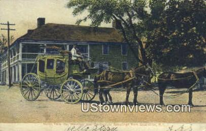 Hotel Tally Ho - Greenville, Rhode Island RI Postcard