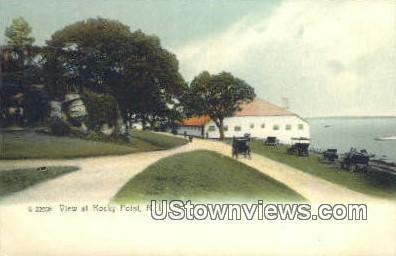 Rocky Point, Rhode Island, Postcard;  Rocky Point, RI,