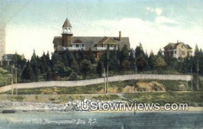 Pomham Club - Narragansett Bay, Rhode Island RI Postcard