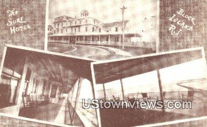 Sure Hotel - Block Island, Rhode Island RI Postcard