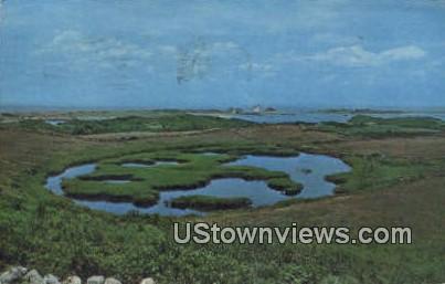 Block Island, Rhode Island, Postcard;  Block Island, RI,