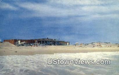 New State Pavilion - Block Island, Rhode Island RI Postcard