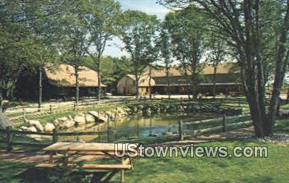 Gift Barn - Charlestown, Rhode Island RI Postcard
