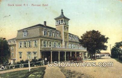 Manisses Hotel - Block Island, Rhode Island RI Postcard