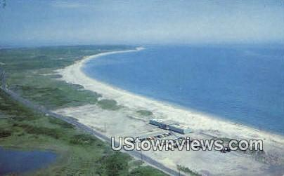 Crescent Beach - Block Island, Rhode Island RI Postcard