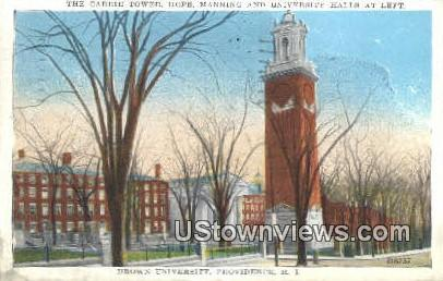 Brown University - Providence, Rhode Island RI Postcard