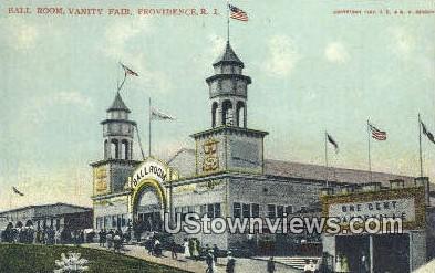 Ball Room, Vanity Fair - Providence, Rhode Island RI Postcard