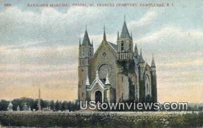 Banigan's Memorial Chapel - Pawtucket, Rhode Island RI Postcard