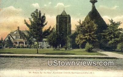 St. Peter's By the Sea - Narragansett Pier, Rhode Island RI Postcard