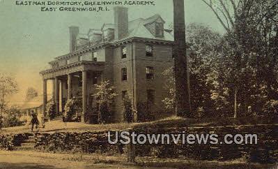 Eastman Dorm, Greenwich Academy - East Greenwich, Rhode Island RI Postcard