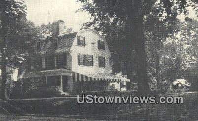 Kingston Inn - Rhode Island RI Postcard