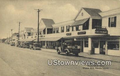 Sisson's Restaurant, 1913 - Watch Hill, Rhode Island RI Postcard