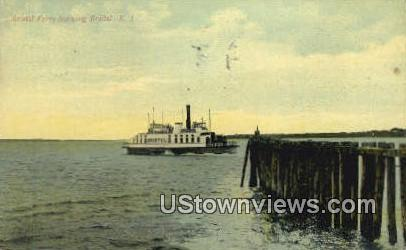 Bristol Ferry - Rhode Island RI Postcard