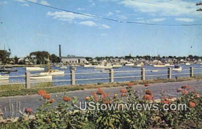 Barrington - Warren, Rhode Island RI Postcard