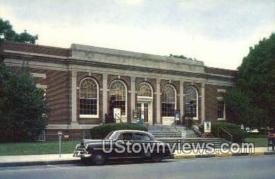 US Post Office - East Greenwich, Rhode Island RI Postcard