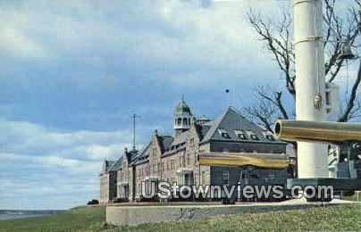 US Naval War College - Narragansett Bay, Rhode Island RI Postcard