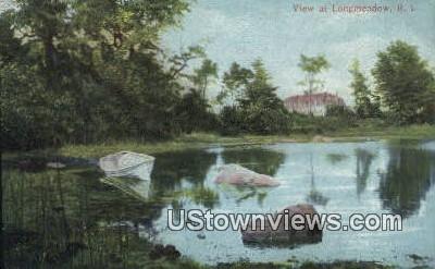 Longmeadow, Rhode Island, Postcard;  Longmeadow, RI,