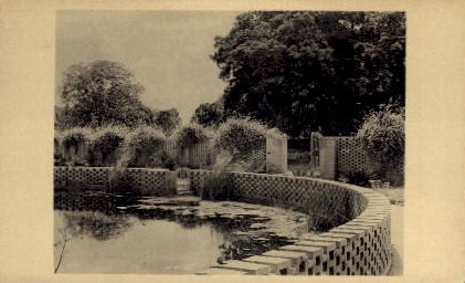 Diana Pool and Garden Entrance - Brookgreen Gardens, South Carolina SC Postcard
