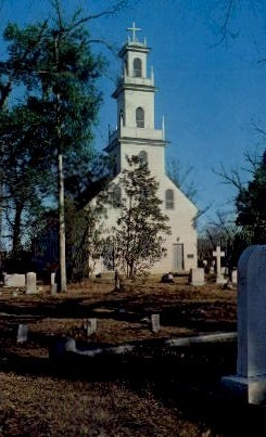 St. David's Episcopal Church - Cheraw, South Carolina SC Postcard
