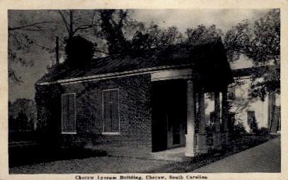 Cheraw Lyceum Building - South Carolina SC Postcard